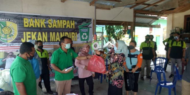 Kota Palangka Raya Peringati World Clean Up Day Tahun 2020