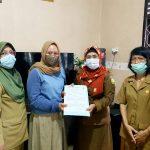 Diskan Palangka Raya Lakukan Penandatangan Kontrak Dengan Pengelola Kampung Lauk