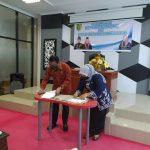 Transformasi Perpustakaan Berbasis Inklusi Sosial Dan Penanda Tanganan Komitmen Kerjasama (MOU)