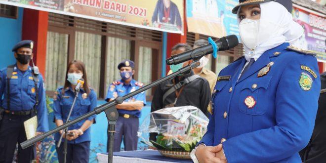 Wakil Walikota Palangka Raya Hadiri HUT DAMKAR ke 102