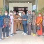 Kunjungan Kerja Komisi II DPRD Kota Banjarmasin ke Disparbudpora Kota Palangka Raya.