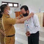 Walikota Palangka Raya Membuka Pelatihan Berbasis Kompetensi Gelombang I di UPTD BLK Kota Palangka Raya