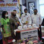 Dispursip Kota Palangka Raya Launching Gerakan Pengembangan Minta Baca