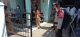 Satgas PPKM Bersama Kelurahan Kereng Bangkirai Tracing Warga Terkonfirmasi Positif Covid-19