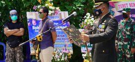 Dandim Palangka Raya Pimpin Keberangkatan Pemakaman Tokoh Pendiri Kalteng