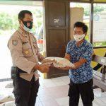 Kelurahan Marang Terima Bantuan Beras Kapolresta Palangka Raya