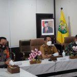 Wali Kota Ikuti Rakor Penegakan Disiplin Protokol Kesehatan dan Penanganan Covid-19