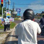 56 Personel Dishub Sosialisasikan Jangan Mudik Lebaran