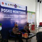 Personel Kodim Palangka Raya Lakukan Pengamanan Bandara Tjilik Riwut Pasca Lebaran