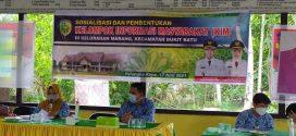 Diskominfo Kota Palangka Raya Melakukan Sosialisasi dan Pembentukan Kelompok Informasi Masyarakat (KIM) di Kelurahan Marang