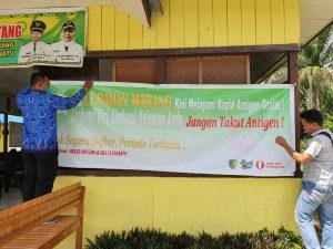Kelurahan Marang Sediakan Rapid Test Antigen Gratis