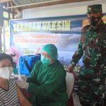 Kelurahan Menteng bersama Kodim Gelar Serbuan Vaksin Bagi Lansia