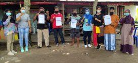 Pukesmas Kereng Bangkirai Jemput Bola Vaksinasi COVID-19 Untuk Lansia