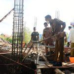 Wali Kota Palangka Raya Letakan Batu Pertama Mesjid Qalbun Salim