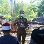 Peletakan Batu Pertama Pembangunan Mesjid Qolbun Salim