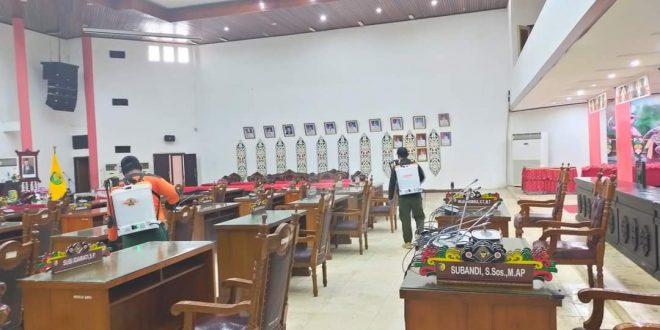 DPRD Palangka Raya Terapkan WFH 100 Persen