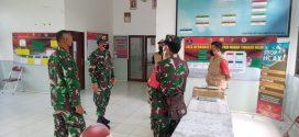 Kunjungi Dua Posko PPKM di Kecamatan Pahandut, Ini Pesan Dandim