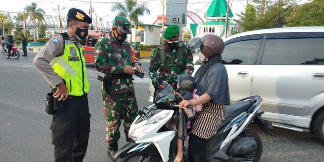 Puluhan Warga Palangka Raya Terjaring Razia Masker