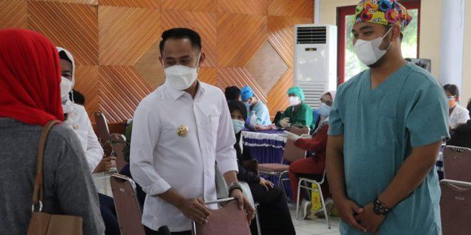 BRI Kanwil Banjarmasin Laksanakan Vaksinasi di SMAN 2 Palangka Raya