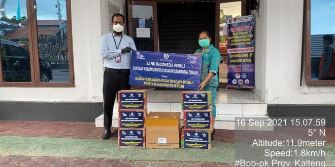 BI Salurkan Bantuan Melalui BPBPK Kalteng