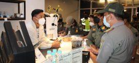 Satgas Penegakan Perda Bersama Tim Gabungan Melaksanakan Patroli Pengawasan Prokes Ke Cafe/Kedai Kopi